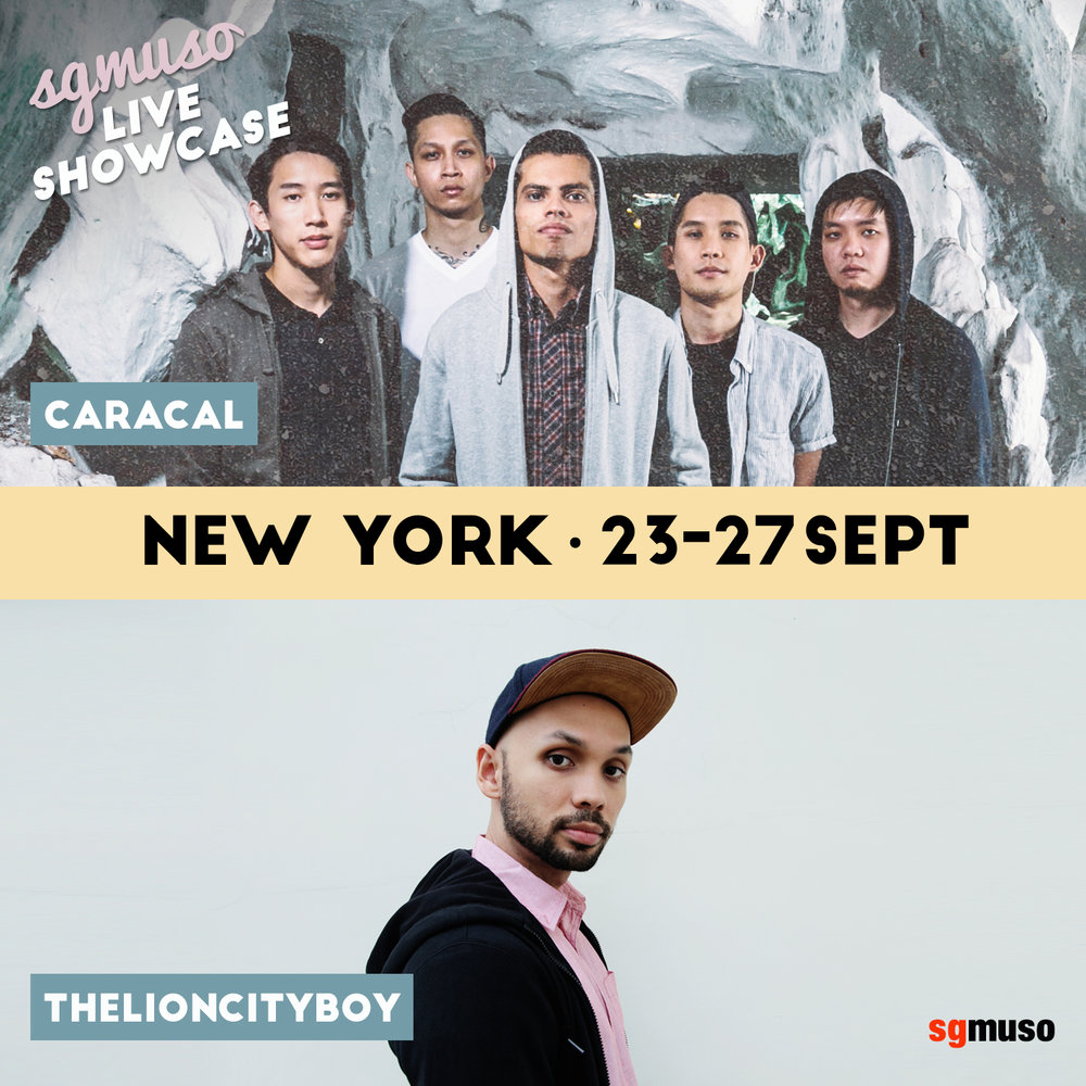 The New York stage was graced by the likes of NADA, Rock band Caracal, Electronic act Octover and hip-hop artist LIONCITYBOY