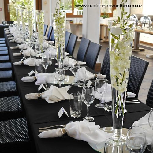 Cone Glass Vases Auckland Event Hire