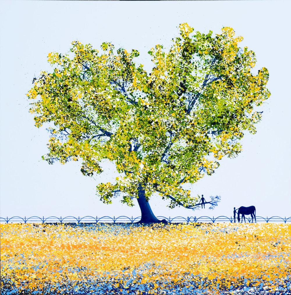 'Springtime Under the Tree'