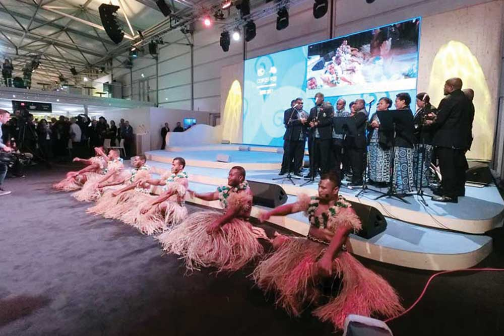 2.DOMI綠然-Blog_我的COP23初體驗_斐濟傳統舞蹈.jpg