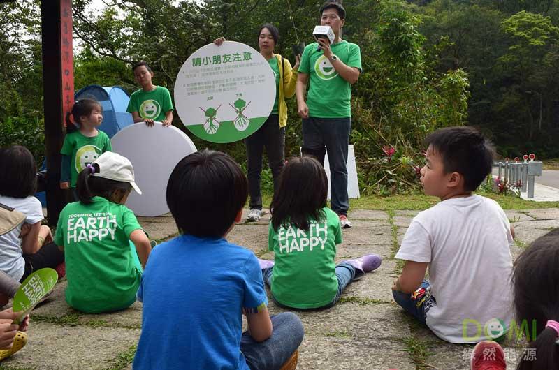 為孩子說明種樹的小方法