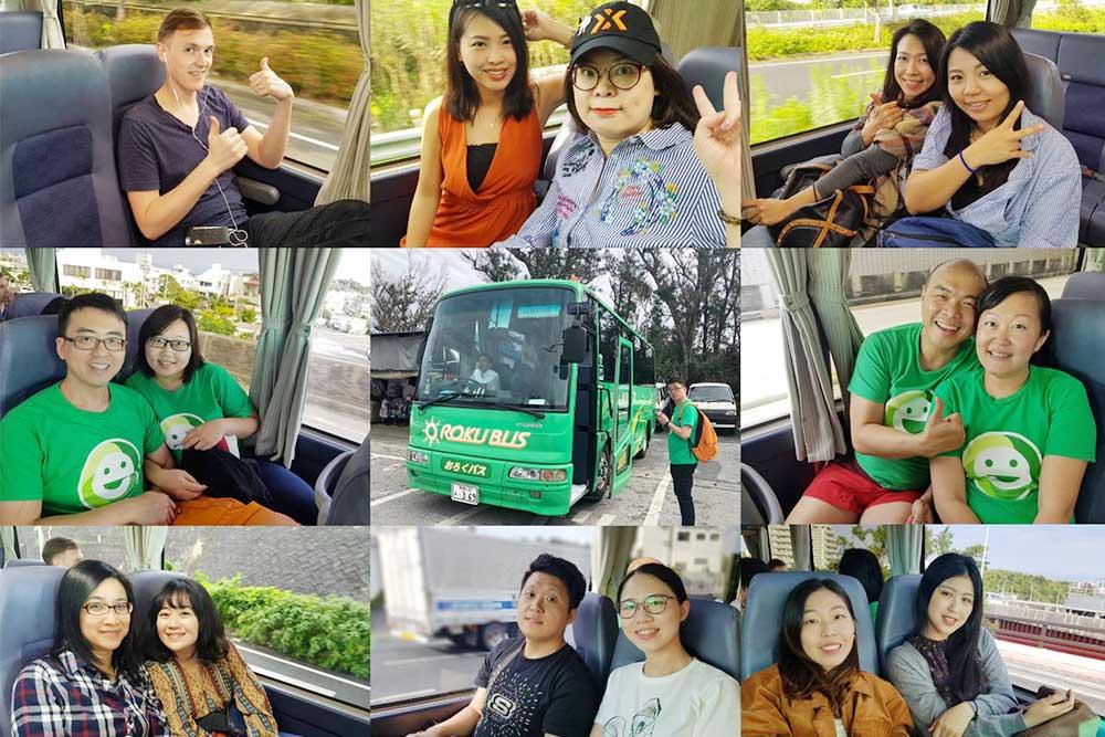 小巴士共乘旅遊更環保