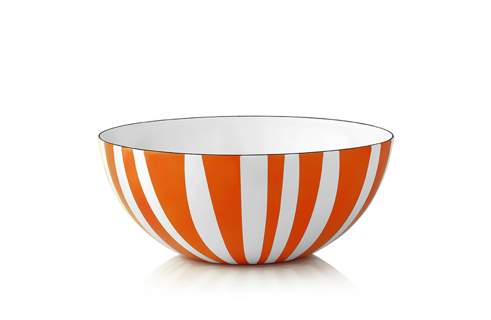 stripes bowl orange - Design by Grete Prytz Kittelsen