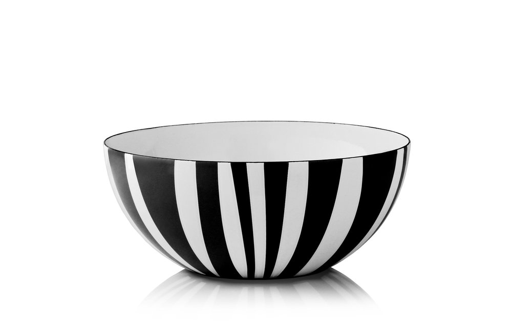 stripes bowl black - Design by Grete Prytz Kittelsen