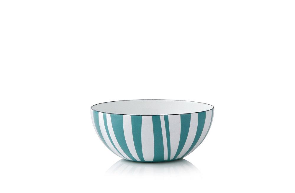 14 cm - Stripes kolleksjonMosegrønn