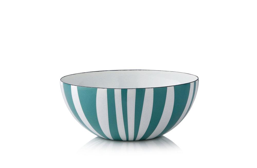 18 cm - Stripes kolleksjonMosegrønn