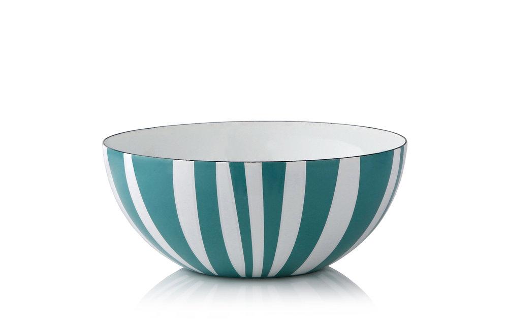 20 cm - Stripes kolleksjonMosegrønn