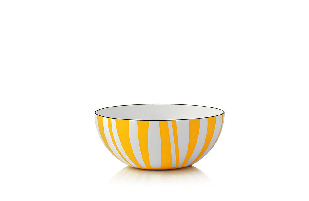 14 cm - Stripes collectionYellow