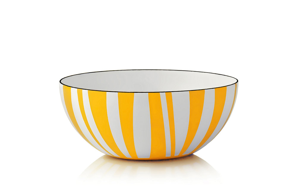 20 cm - Stripes collectionYellow