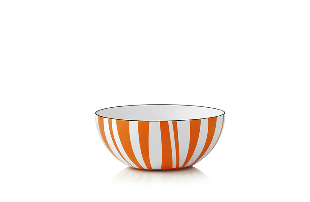 14 cm - Stripes collectionOrange
