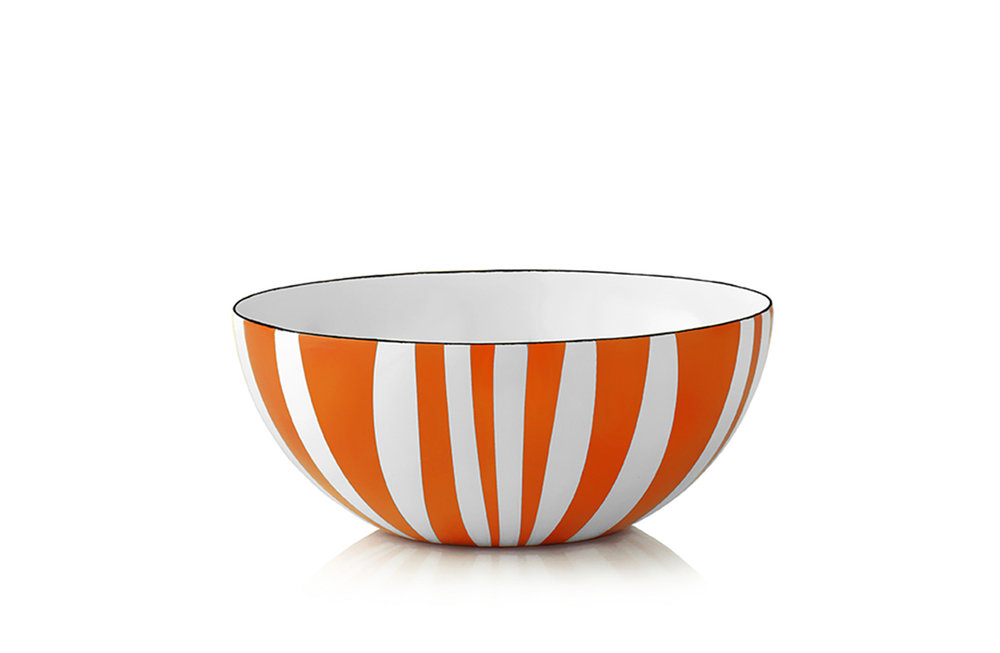 18 cm - Stripes collectionOrange