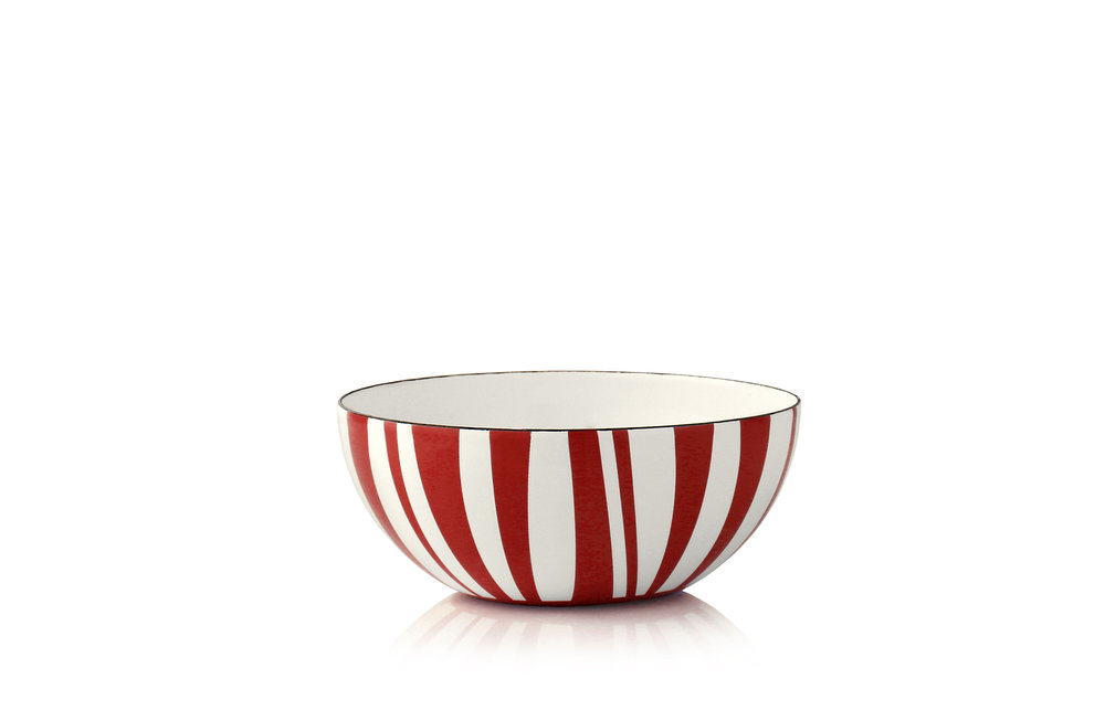 14 cm - Stripes kolleksjonRød