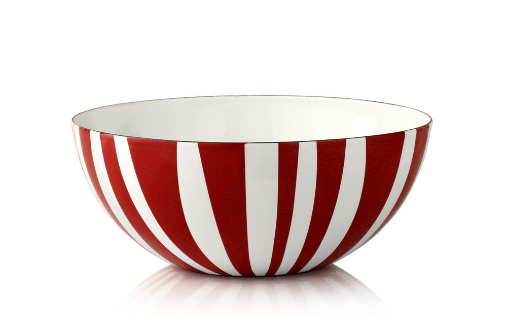 24 cm - Stripes collectionRed