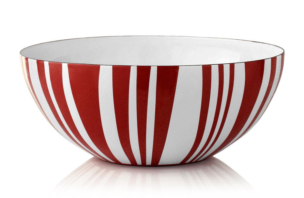 30 cm - Stripes kolleksjonRød