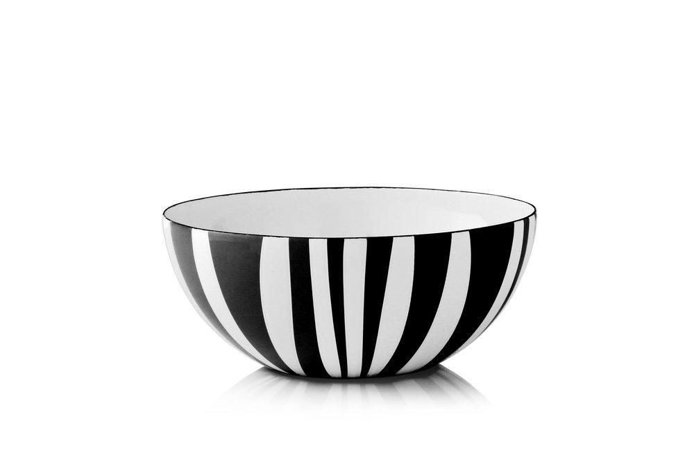 18 cm - Stripes kolleksjonSvart