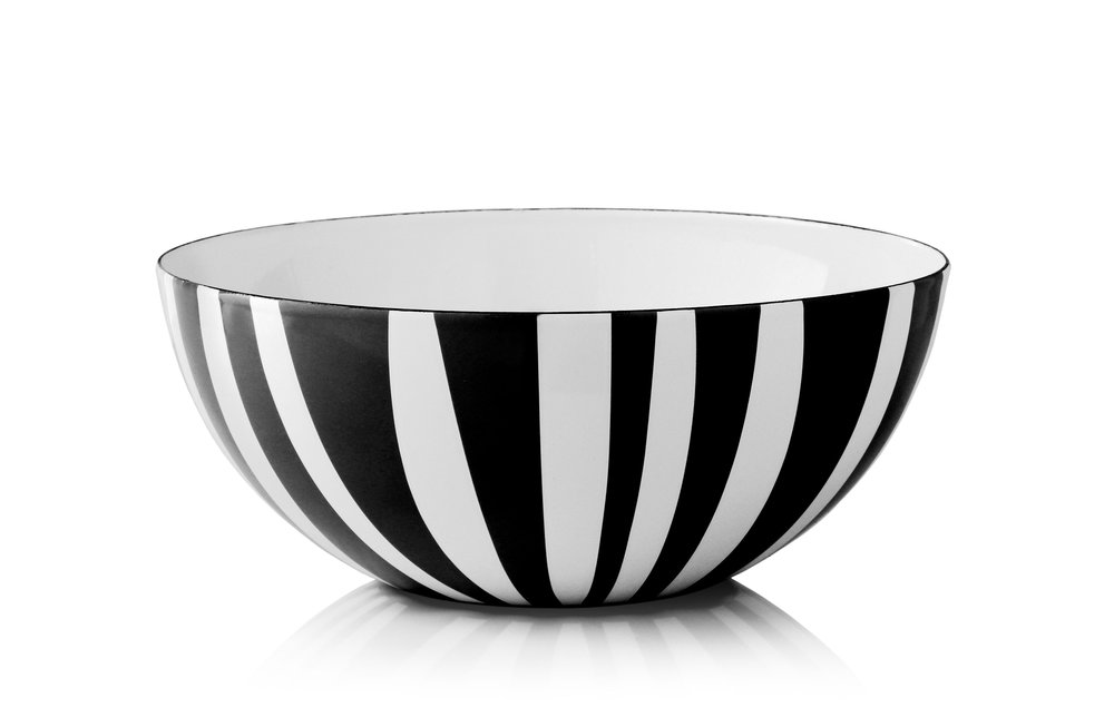 24 cm - Stripes collectionBlack