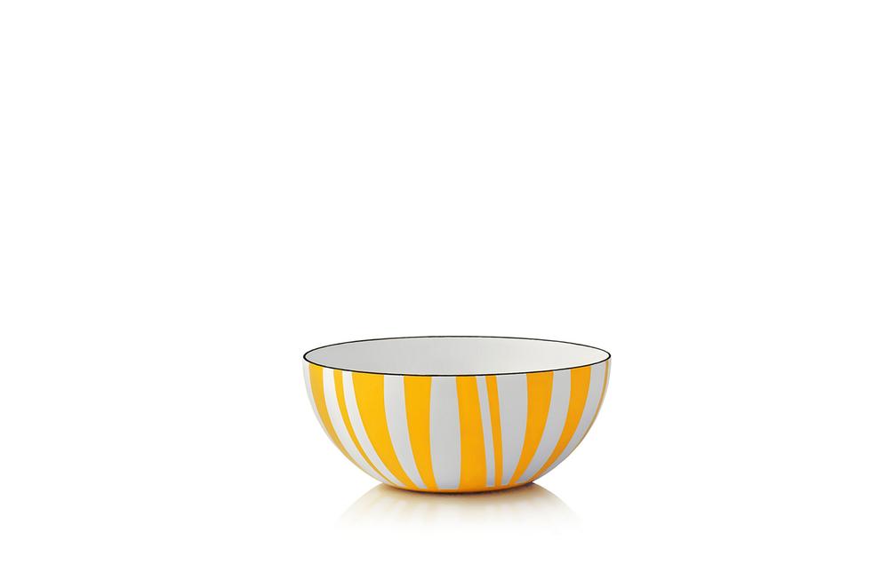 10 cm - Stripes kolleksjonGul