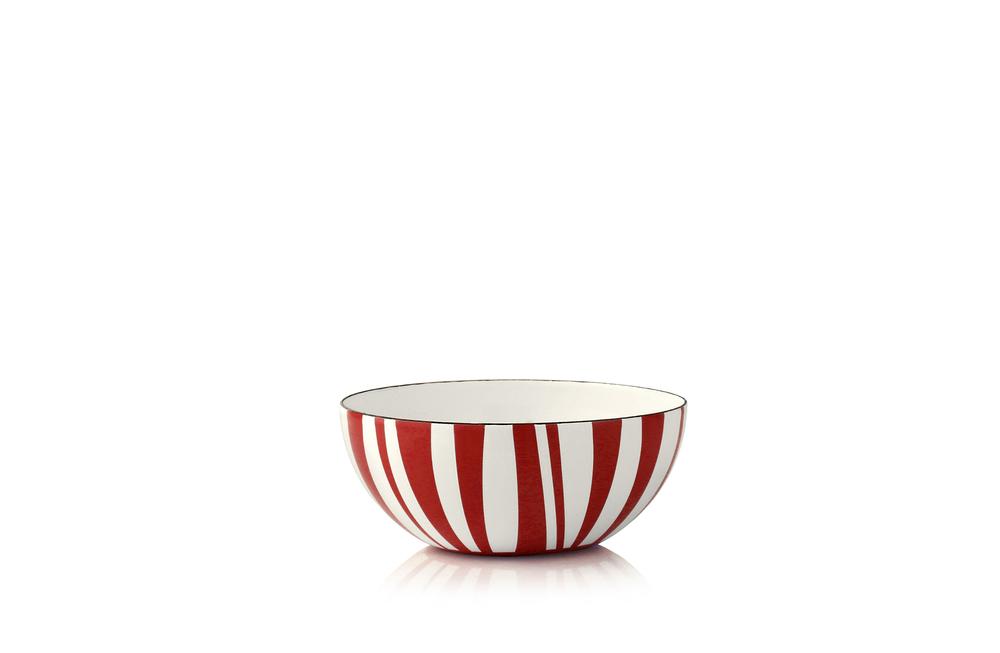 10 cm - Stripes kolleksjonRød
