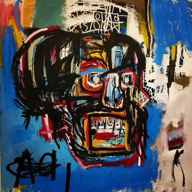 Crazy Basquiat's head