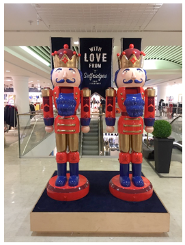 SELFRIDGES NUTCRACKERS