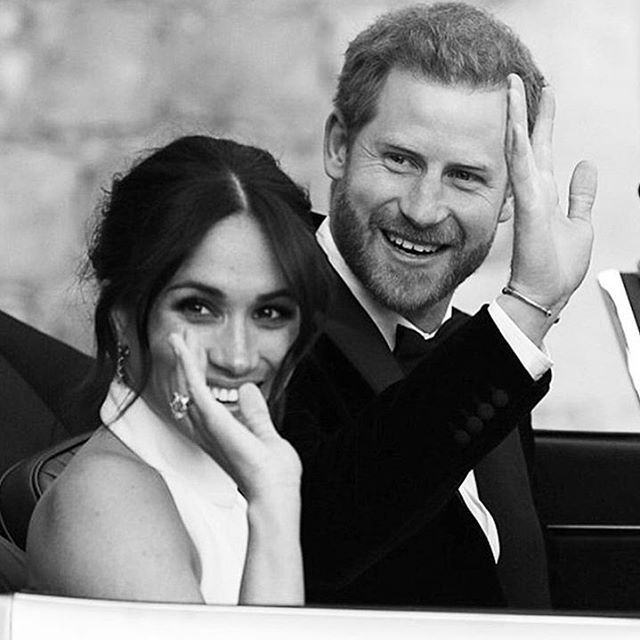 • DREAMY • The Duke + Duchess of Sussex ✨ #royalwedding #meganmarkle #royal #princeharry