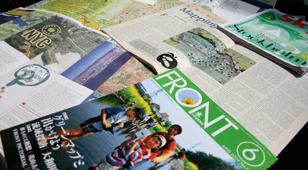 Green Map has appeared in magazines, books and other media around the world