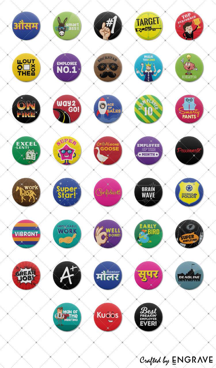 employee appreciation badges engrave awards more