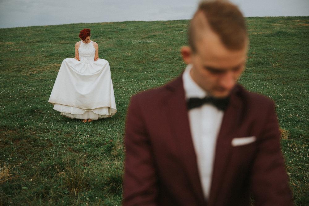 Julita i Damian.Fotograf ślubny, Wiżajny.