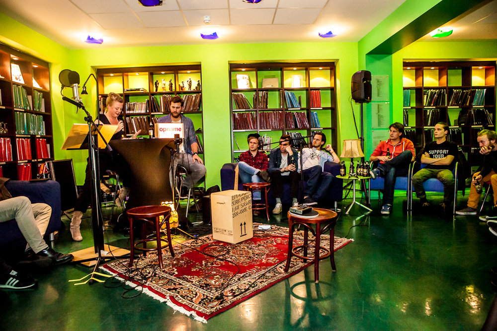 Kunstnacht-2014-marcel-krijgsman-bibliotheek-6