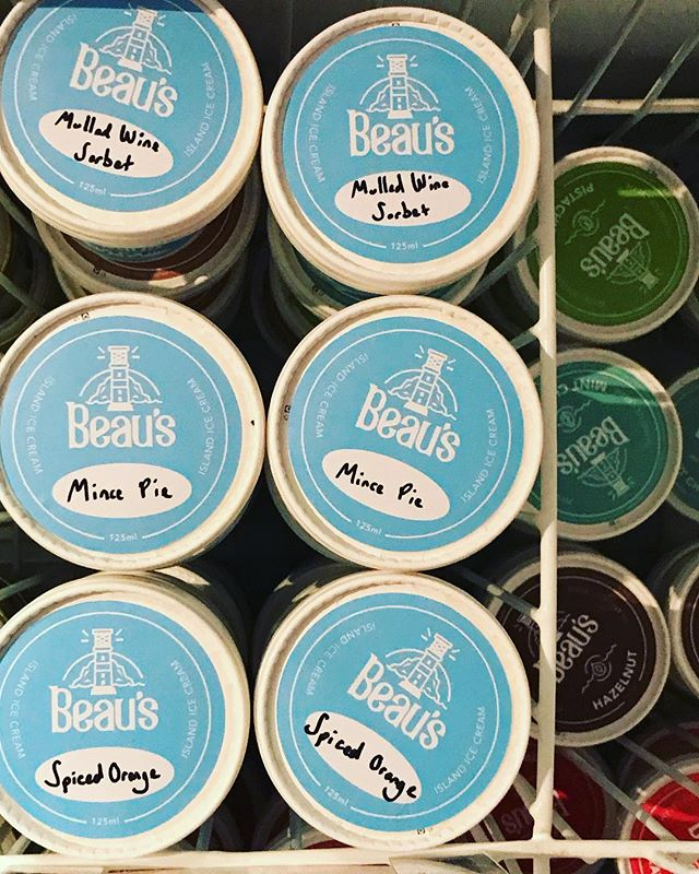 Annnnnd THEY'VE LANDED! First delivery of the full Limited Edition Festive Range has arrived at The Quay Arts! Hurry, because once they're gone they're gone!  MERRY CHRISTMAS!!! 🎄🍨🎊 Beau's x . . . . . . #christmas #christmasiscoming #festiveedition #limitededition #festive #december #hohoho #icecream #dessert #gelato #sorbet #frozendessert #realfood #artisan #artisanal #handcrafted #handpacked #islandicecream #isleofwight  #notyouraverage #vegan #veganfriendly #plantbased #veganiow #noartificalcolours #noartificalflavours #wholefoods #mindfuleating #creamy #glutenfree