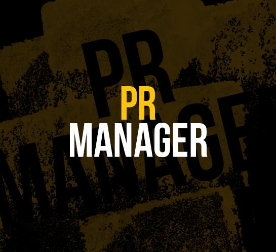 'PR MANAGER'  FULLTIME / KANTOOR GENT