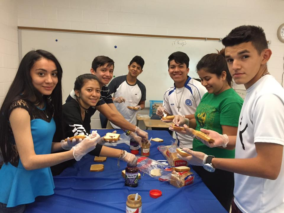 CE-BELL WHS making sandwiches for the homeless.jpg