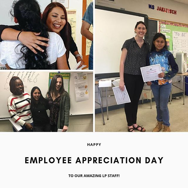 Taking the opportunity to shout out our amazing LP staff on National Employee Appreciation Day!