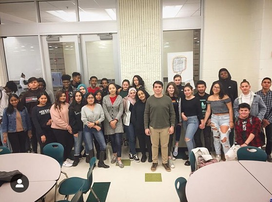PROGRAM UPDATE!  Wakefield youth hear from an awesome alum • Ben Franklin youth work on job applications • Roosevelt youth learn about discrimination from @dchumanrights