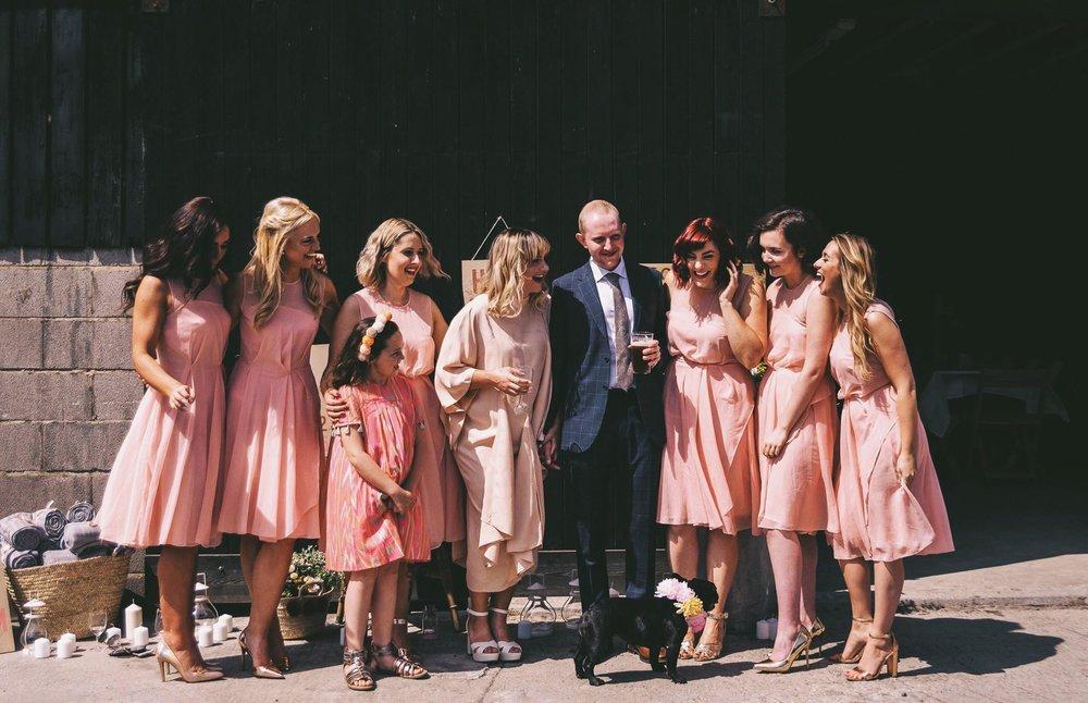 Left-Right: Alicia, Francesca, Orla, Maria, Hattie, Jonny, Rachel, Tallulah, Lauren.