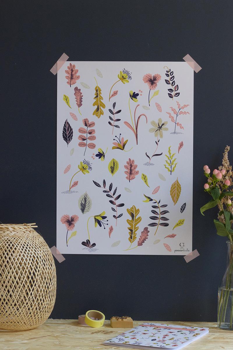 Affiche Flower Mood