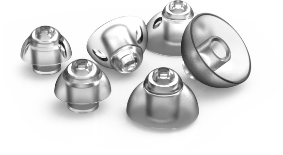 Hearing Aid Domes