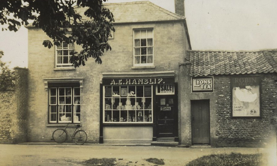 The village shop, Wereham