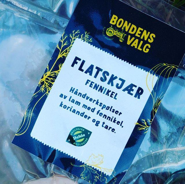 Våre ferskpølser med fennikel, koriander og tare får du nå kjøpt på Lundis i Tvedestrand og Hos Kari og meg på Gjeving. En smaksopplevelse alle burde unne seg! #pølser #fennikelpølse #lammepølser #villsau#økologisk #lokalmat #kortreist