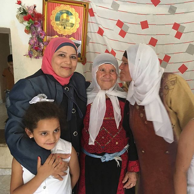 Oct. 11th is the @Day of the Girl! Judge Kholoud wants a better future for her family (4 generations pictured) and women & girls everywhere! #DayoftheGirl #Dare2BeBold