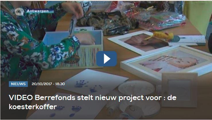 ATV - Berrefonds stelt nieuw project voor: de koesterkoffer