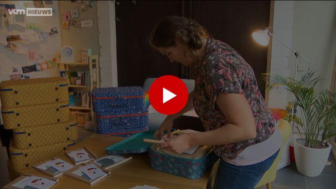 HLN - Koesterkoffer moet helpen na dood kind