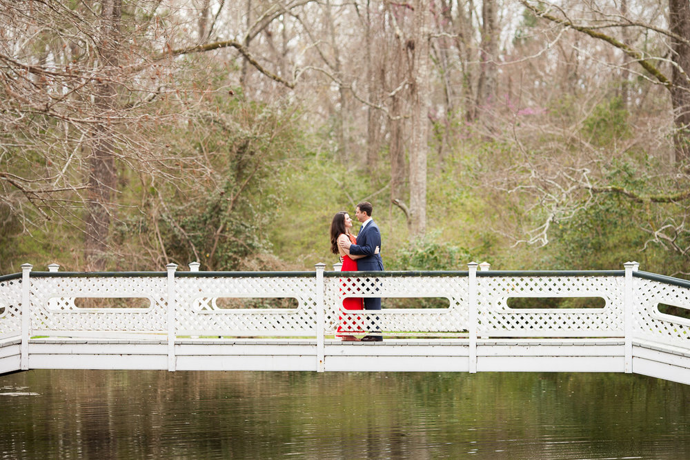 Madeline and Thomas, imagining their sweet future during their engagement session in Natchez!