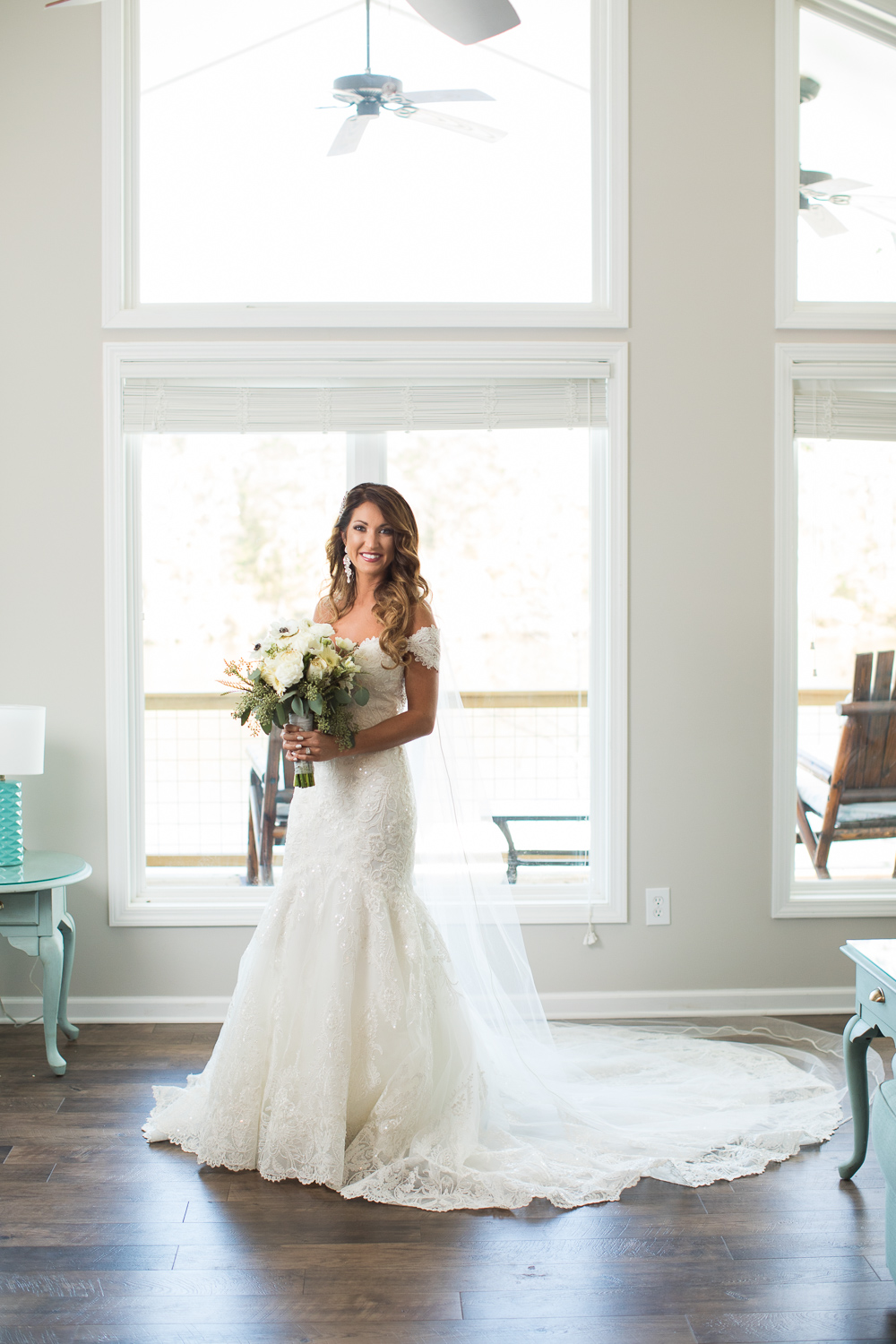 Juliana was gorgeous in her gown from The Bride and Groom Bridal Boutique!