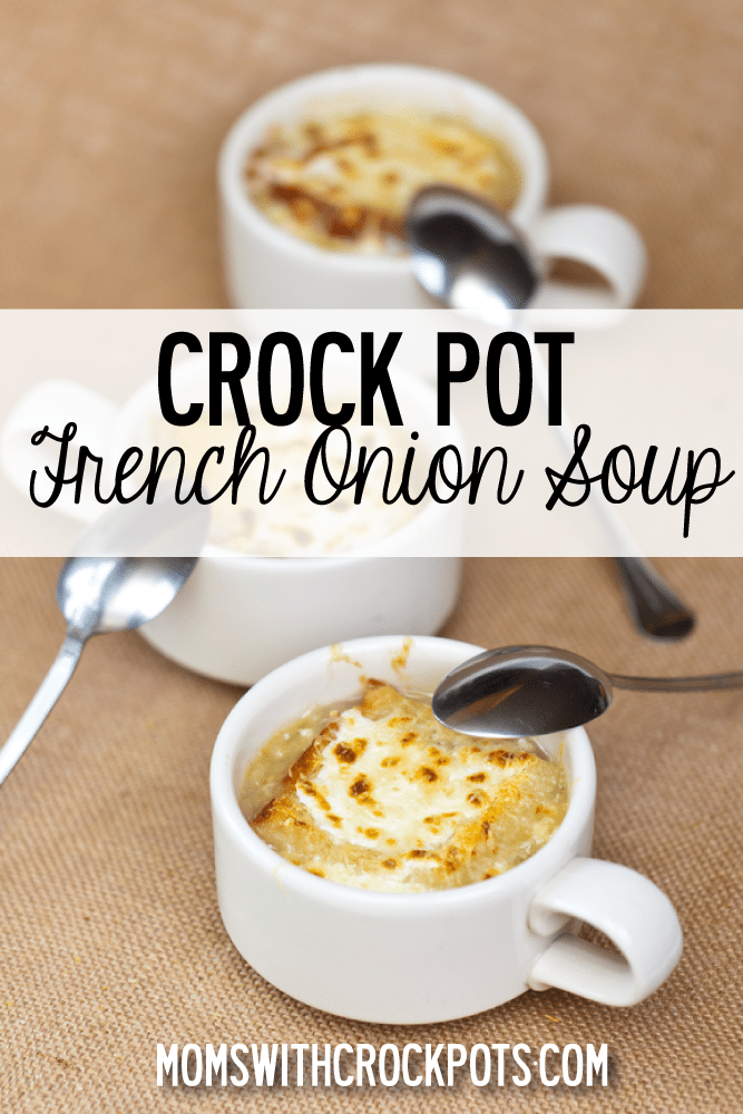 french onion soup - momswithcrockpots.com