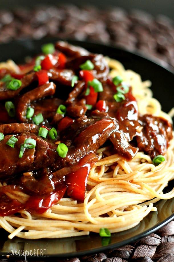 mongolian beef - reciperebel'com