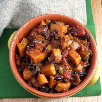 sweet potato chilli - slowcookerclub.com