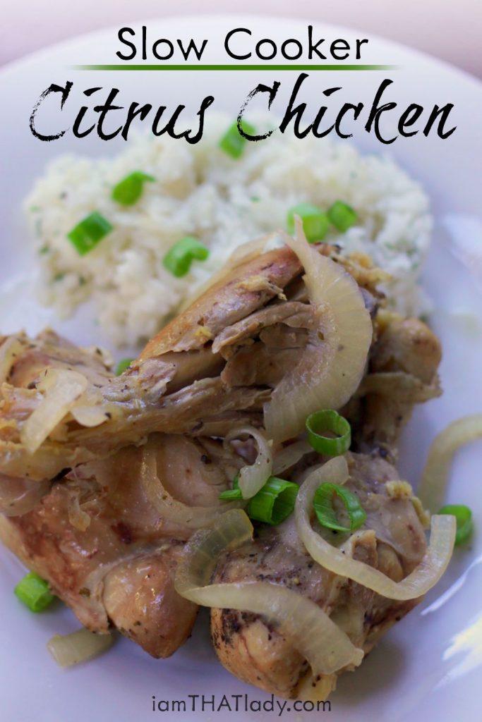 CARIBBEAN citrus chicken - laurengreutman.com