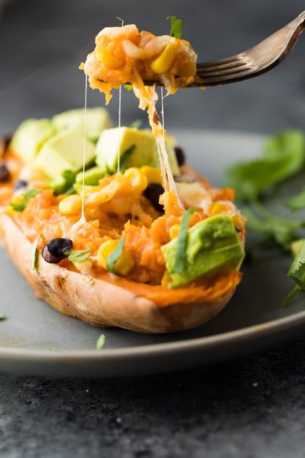 enchilada sweet potatoes -