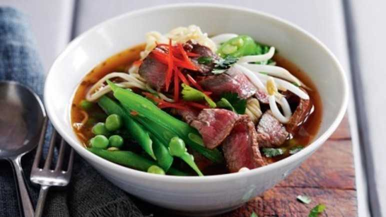 thai beef noodle soup - sainsburys.co.uk